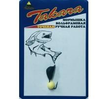 Мормышка Демидовка желтый шарик 1,05г D4 BL-K