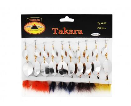 Блесна  TAKARA ручная работа T-5195 (10шт в уп)