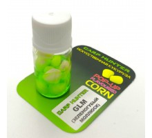 Плавающая силиконовая кукуруза в дипе CCMoore GLM (зеленогубая мидия) 10шт.