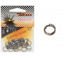 Заводные кольца ТА6008-8 (10шт)