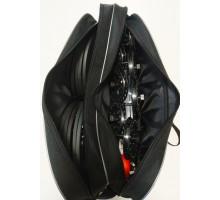 Набор жерлиц в сумке алюминиевая стойка (катушка 90мм) оснащённые 10шт